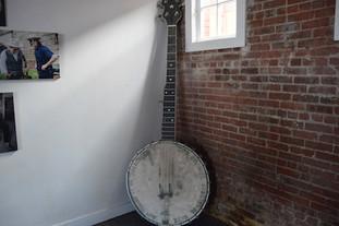 Pete Seeger banjo replika