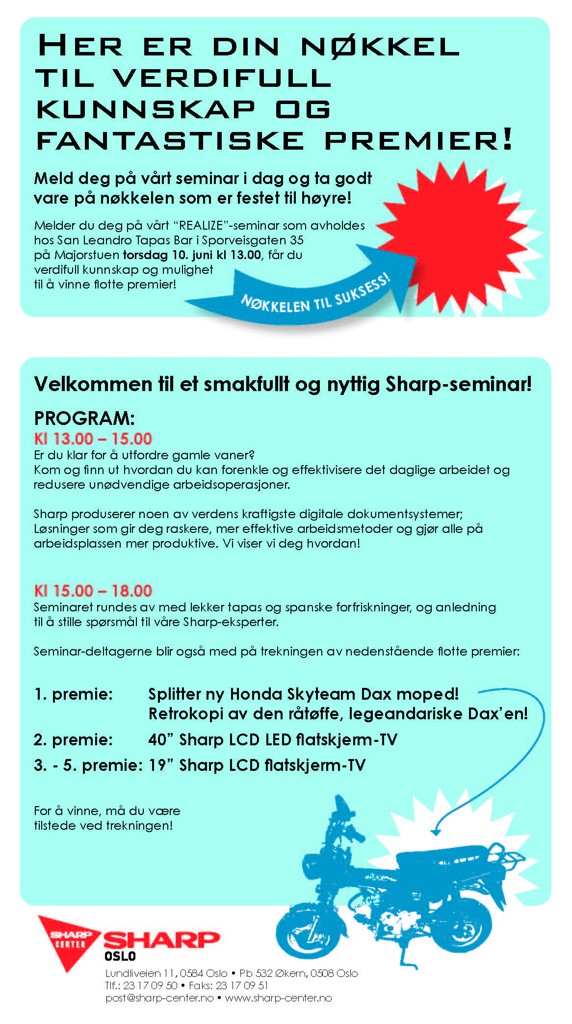 Invitasjon til seminar/event