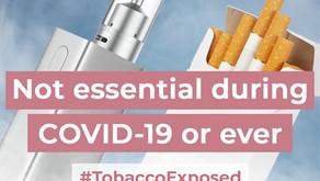 May 31, 2020 World No Tobacco Day