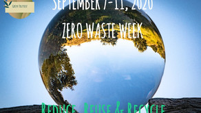 Zero Waste Week 2020 - Tips to challenge yourself to get started with a Zero Waste lifestyle