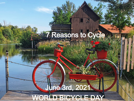 June 3, 2021World Bicycle Day - 7 Reasons To Cycle