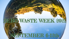 Zero Waste Week 2021 - Tips to challenge yourself to get started with a Zero Waste lifestyle