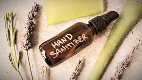 How to make your own disinfectant hand gel