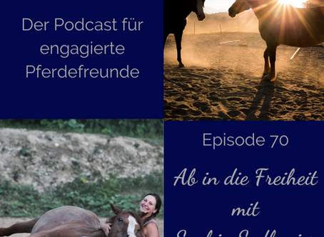 Podcast mit Pferdegewieher