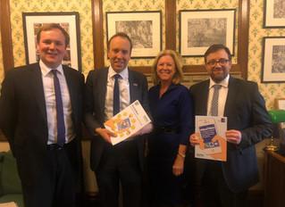 Ogmore MP Meets With UK Health Secretary To Discuss Landmark Report