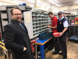 Celebrating The Royal Mail's Hard Working Staff