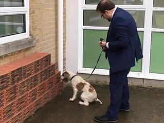 Chris Elmore Praises Vital Work Of Police Dogs Unit