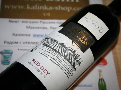 Красное вино, сухое