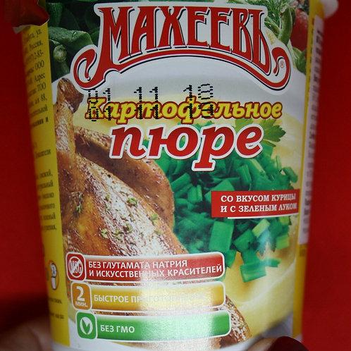 Картофельное пюре со вкусом курицы