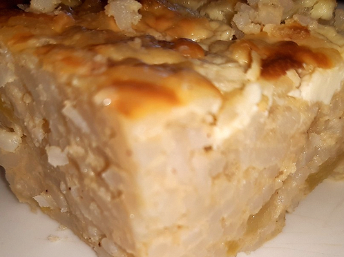 Рисово-яблочная бабка