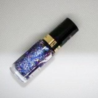 Лак лореаль, цвет фиолетово-синие блестки