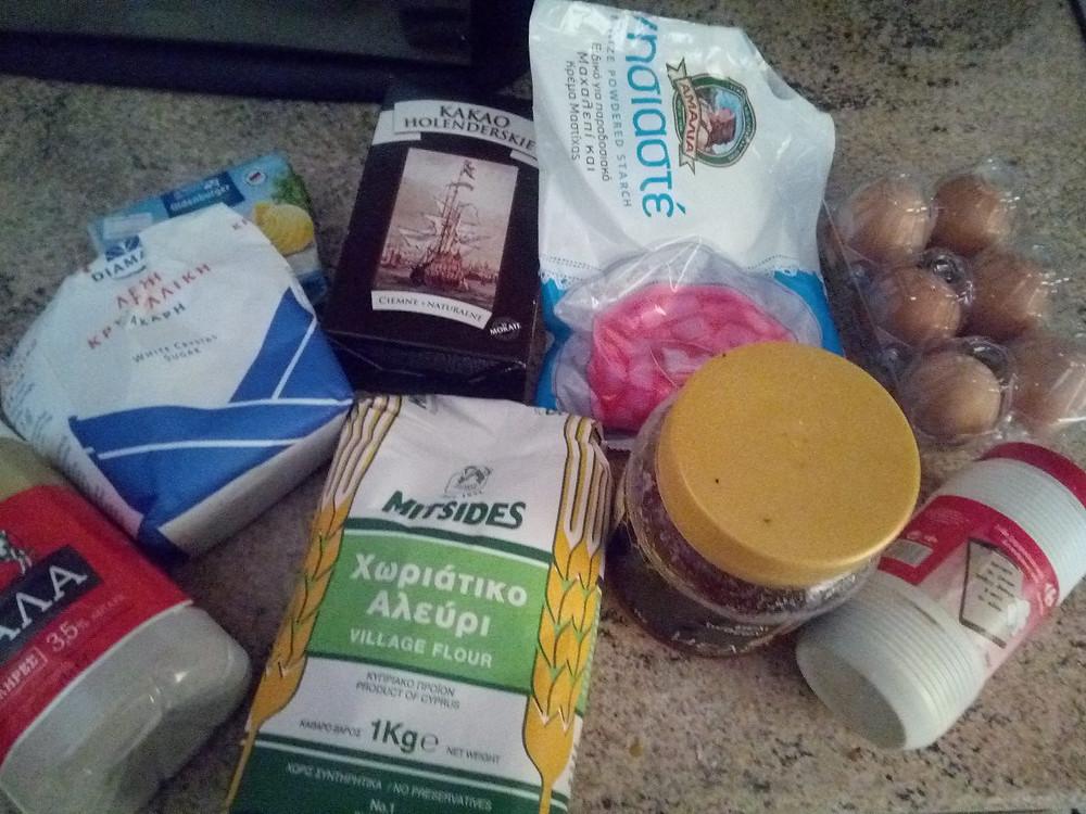 продукты для спартака