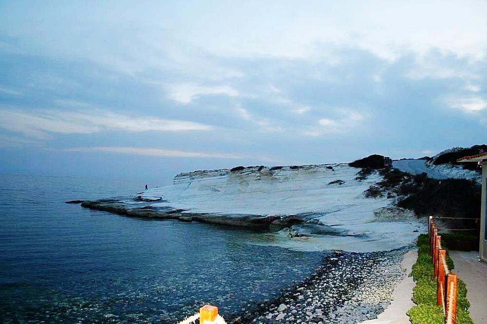 белые скалы, Кипр