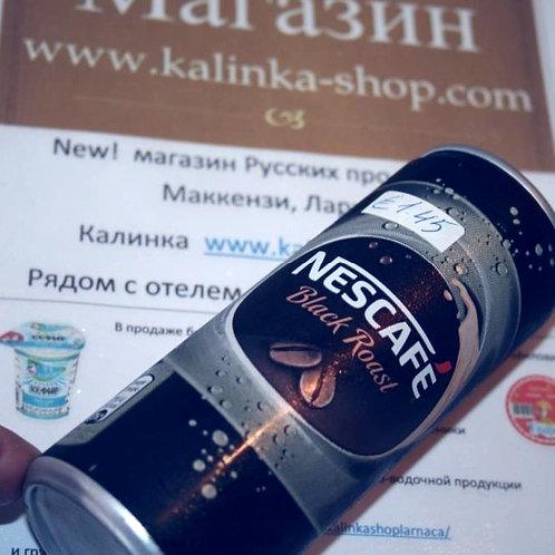 Кофе холодный черный