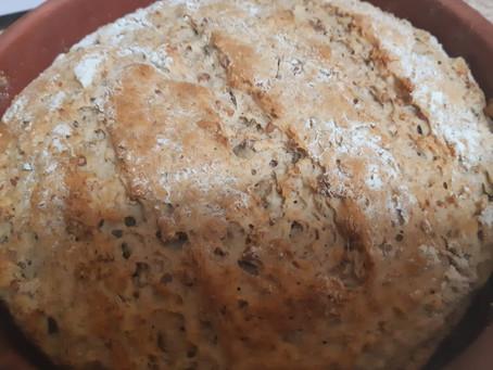 Гречневый хлеб, оригинально и вкусно