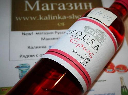Вино розовое Эзуса