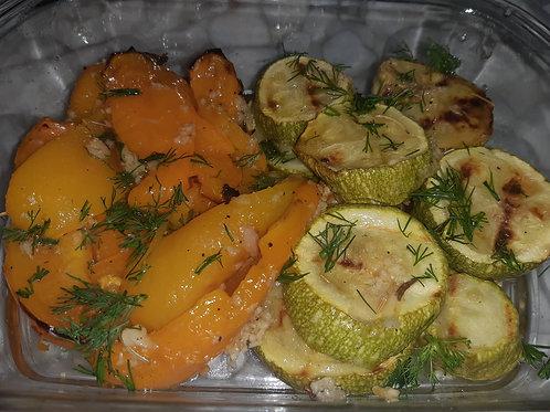 Маринованные овощи микс