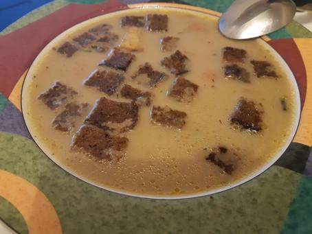 Грибной суп оригинальный