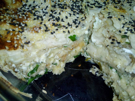 Диетический сырный пирог