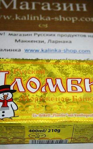 Мороженое русский пломбир