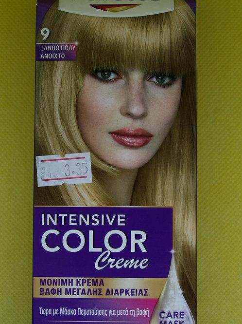 Краска цвет золотисто-светлый тон 9