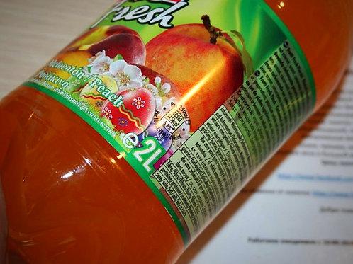 Frutty fresh лимонад 2л