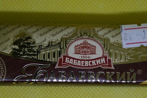 Батончик бабаевский