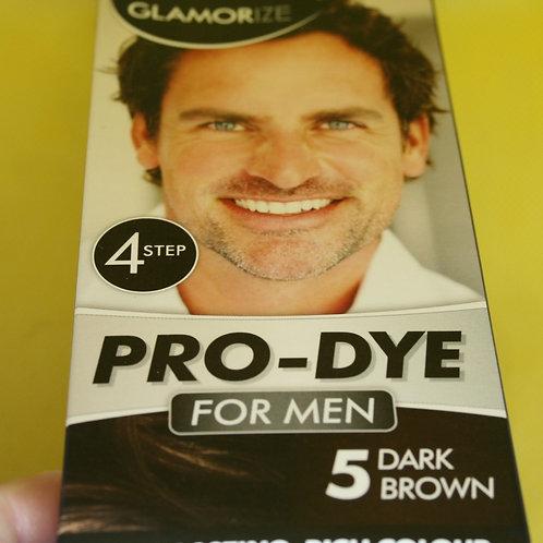 Краска мужская коричневая