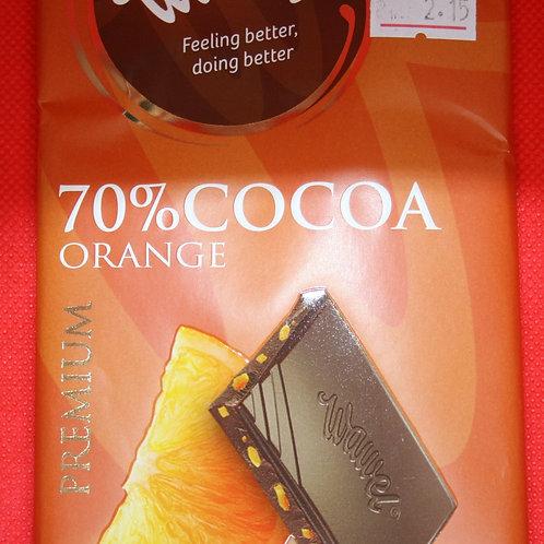 Шоколад черный с апельсином