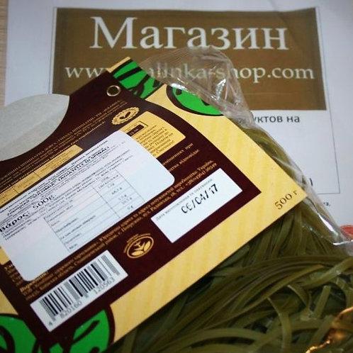 Таглятелли со вкусом шпината