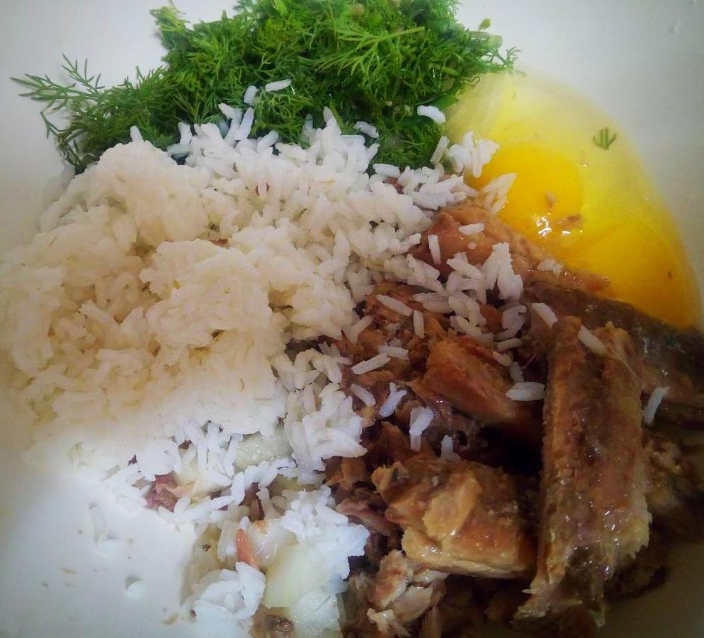 с рисом