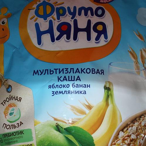 Каша детская яблоко, банан, земляника
