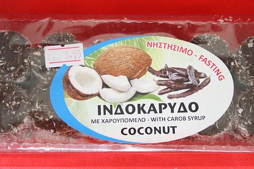 Кипрские конфеты с кокосом и рожковым сиропом
