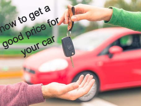 How to get a good price for your car