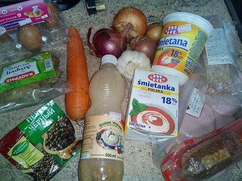 Корзинка для супа журек