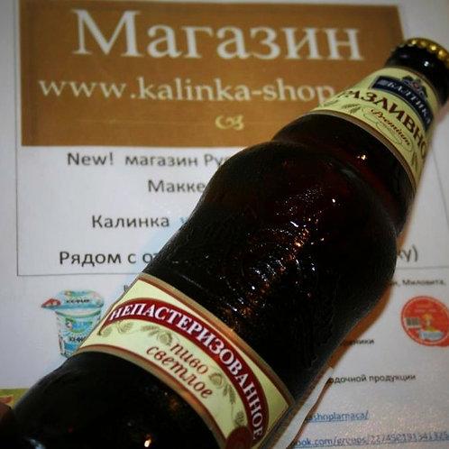 Пиво Балтика непастеризованное
