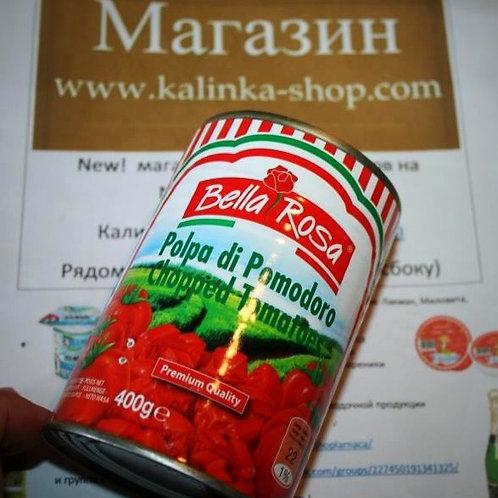 Рубленые помидоры