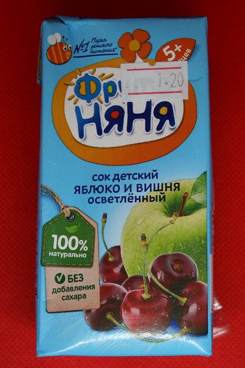 Сок яблочно-вишневый