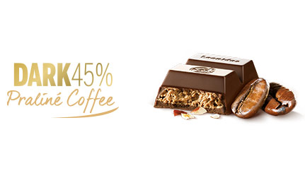 DARK45% PRALINÉ COFFEE
