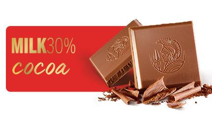 MILK30% COCOA