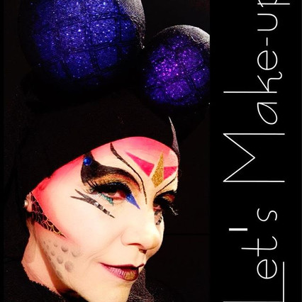 I created a unique character with make-up inspired by _ryburk #makeupartist #makeupgeek #makeupaddict #makeupbyme #undiscovered_mua #mua #ny