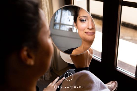 Make-up by me, foto by Lien van Dyen
