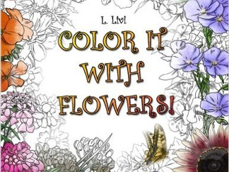 Color It with Flowers!