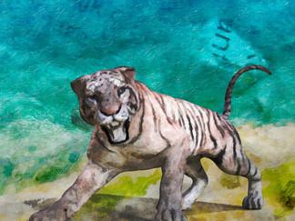 La Tigre di Cartapesta: Una baita, un'isola, una bambina ed un diario