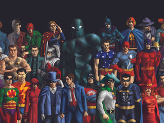 Nedor Superheroes: Public Domain Encyclopedia vol. I - Deluxe Edition