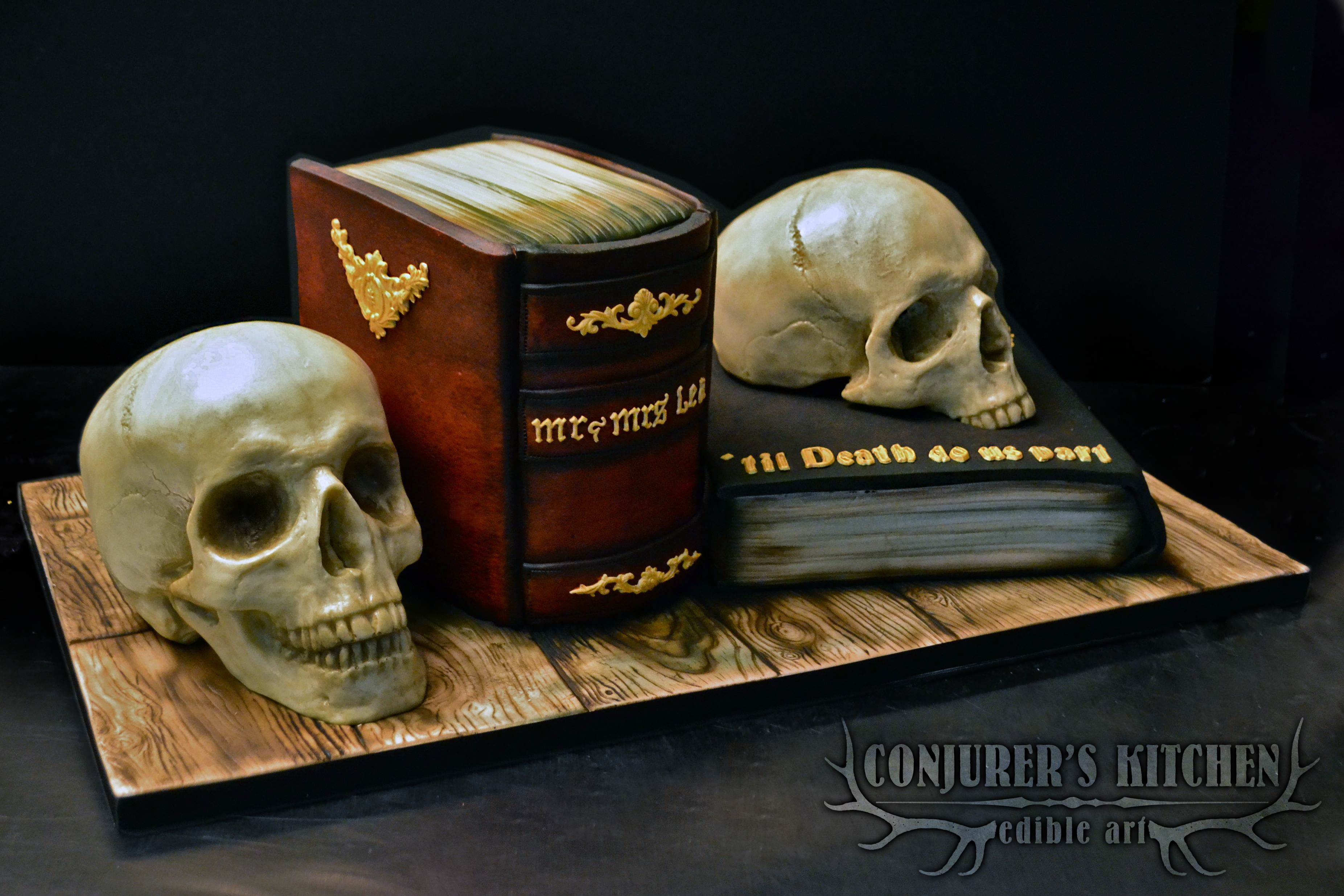 Memento Mori cake