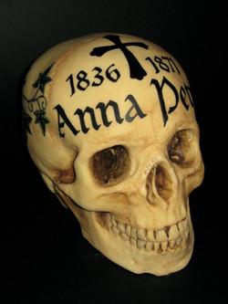 Chocolate Hallstatt Skull
