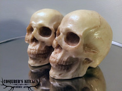 Medium Chocolate Human Skulls
