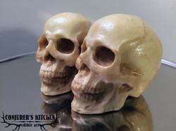 Medium Chocolate Human Skulls