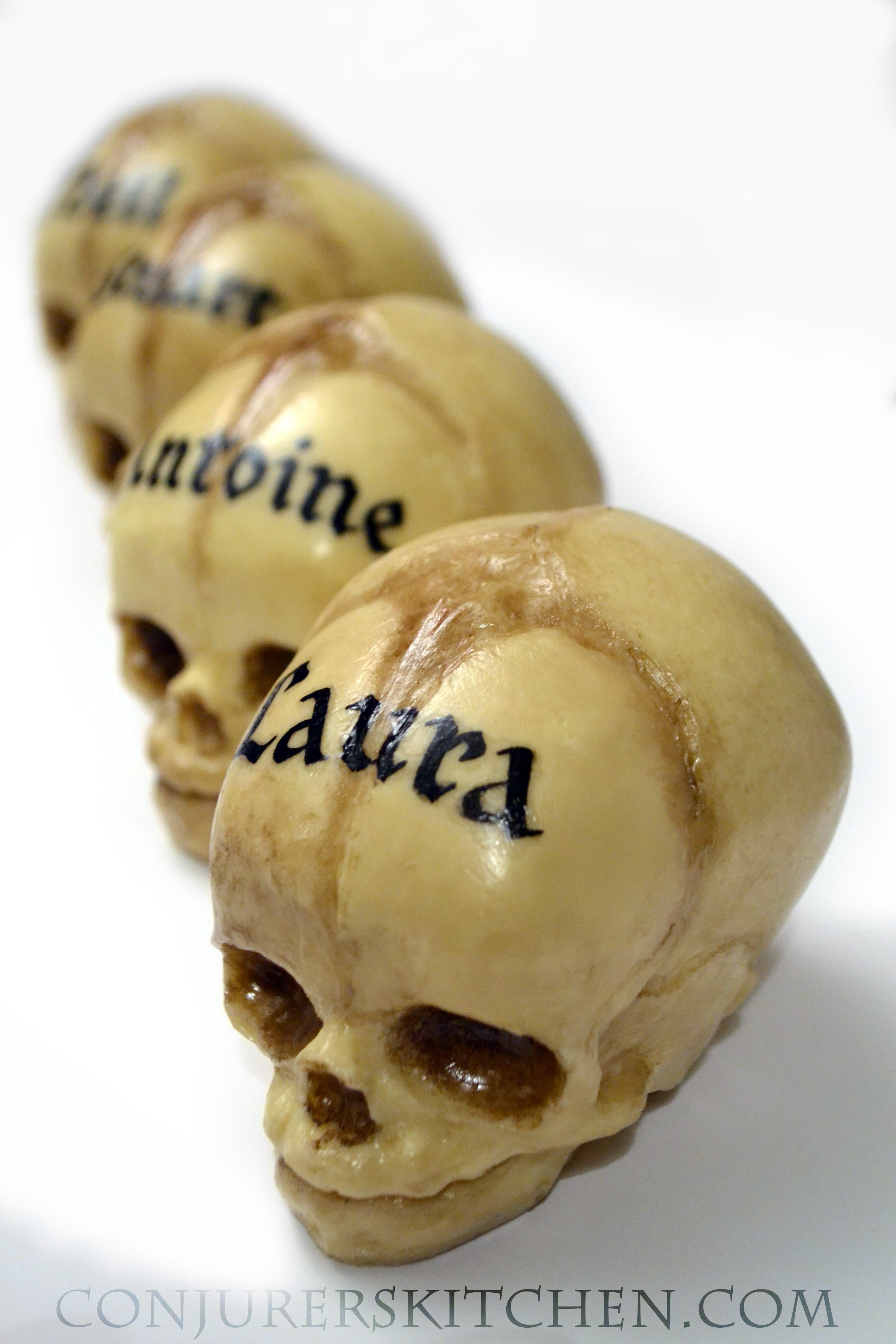 Custom Chocolate Fetal Skulls